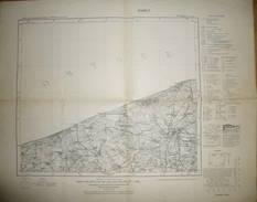 Karte Des Deutschen Reiches 1-cm-Karte - 92 Trepow An Der Rega - Ausgabe F 1938 - Topographische Karten