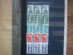 VEND LOT DE TIMBRES DU LAOS , 1951 - 1958 , MULTIPLES , NEUFS , FORTE COTE !!!! - Laos