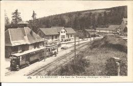 88 - LA SCHLUCHT - La Gare Du Tramway électrique Et L'Hôtel - France