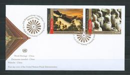 UNO Wien 2013 FDC Welterbe China - FDC