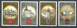 187 RUSSIE (URSS) 1978 - Yvert 4549/52 - Tourisme Armoirie Embleme JO - Neuf ** (MNH) Sans Trace De Charniere - 1923-1991 UdSSR