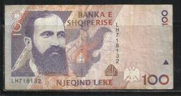 ALBANIA 1996 BANCONOTA BANKNOTE BILLET LEKE 100 LEK - Albania