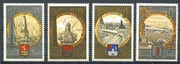 187 RUSSIE (URSS) 1978 - Yvert 4567/70 - Tourisme Armoirie Embleme JO - Neuf ** (MNH) Sans Trace De Charniere - 1923-1991 URSS