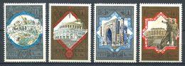 187 RUSSIE (URSS) 1979 - Yvert 4617/20 - Tourisme Armoirie Embleme JO - Neuf ** (MNH) Sans Trace De Charniere - 1923-1991 UdSSR