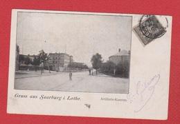 Sarrebourg --Artillerie Kaserne - Sarrebourg