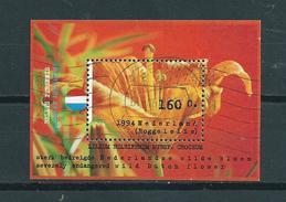 1994 Netherlands Complete M/Sheet Roggelelie Used/gebruikt/oblitere - Blokken