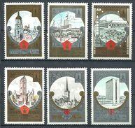 187 RUSSIE (URSS) 1980 - Yvert 4688/93 - Tourisme Armoirie Embleme JO - Neuf ** (MNH) Sans Trace De Charniere - 1923-1991 URSS