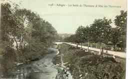 CPA - AUBAGNE (13) - Aspect Des Bords De L'Huveaune Et De L'allée Des Marronniers En 1906 - Aubagne