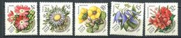 187 RUSSIE (URSS) 1981 - Yvert 4802/06 - Fleur - Neuf ** (MNH) Sans Trace De Charniere - 1923-1991 URSS