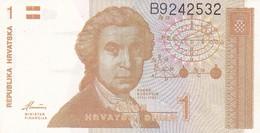 CROAZIA 1 DINAR 1991   FDS - Croazia