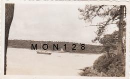 BENODET  (29 Finistere)  AOUT 1937 -  LES RIVES DE L'ODET-  2 PHOTOS ORIGINALES Dim 11x7 Cms - Orte