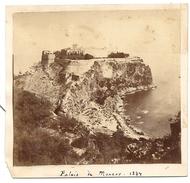 MONACO . PALAIS EN 1874 - Lieux