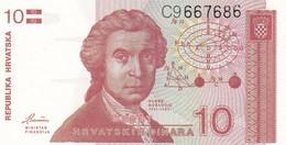 CROAZIA 10 DINARA 1991   FDS - Croatia