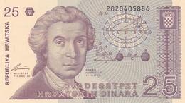 CROAZIA 25 DINARA 1991   FDS - Croatia