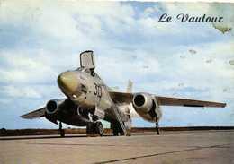 Le S.O. 4050 VAUTOUR  Avion Bireacteur De Combat Recto Verso - Aviones