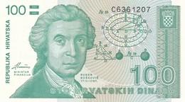 CROAZIA 100 DINARA 1991   FDS - Croatia