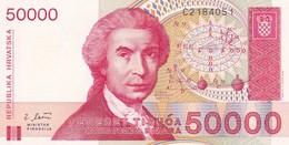 CROAZIA 50000 DINARA 1993   FDS - Croatia