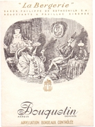 Etiket Etiquette - Wijn Vin De Bordeaux - La Bergerie - Bouquetin - Baron Philippe De Rothschild - Pauillac - Bordeaux