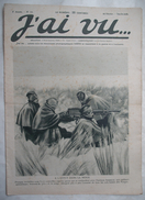 WW I - 14/18 : J'AI VU -1915 : AISNE . HOLLANDE . FRONT ORIENTAL .  ETAT-MAJOR ALLEMAND . FRONT . Etc .. - Kranten