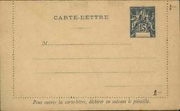 DIEGO SUAREZ - Entier Sur Carte Lettre Vierge Au Type Groupe - P21132 - Covers & Documents