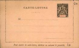 DIEGO SUAREZ - Entier Sur Carte Lettre Vierge Au Type Groupe - P21133 - Covers & Documents