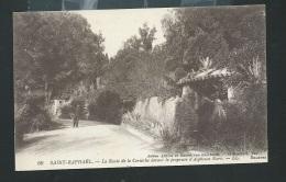 Saint  Raphael - La Route De La Corniche Devant La Propriété D'alphonse Karr     OBF05107 - Saint-Raphaël