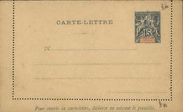 DIEGO SUAREZ - Entier Sur Carte Lettre Vierge Au Type Groupe - P21134 - Covers & Documents