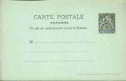 DIEGO SUAREZ - Entier Sur Carte Vierge Au Type Groupe - P21137 - Covers & Documents