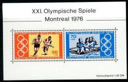 BRD - Michel Block 12 = 888 / 889 - ** Postfrisch - Sommerolympiade 76 - [7] West-Duitsland