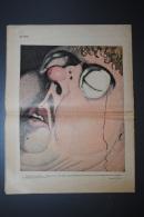 Lot De 2 Anciennes Revues Humour Caricature LE RIRE N°669 Du 28/11/1931 Et N°736 Du 11/03/1933 Dont Dessin Dubout - Books, Magazines, Comics