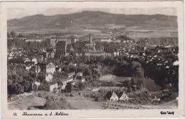 AK - (Sudetengau) KRUMMAU A.d. Moldau - Panorama 1944 - Tschechische Republik