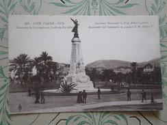 Nice. Monument Du Centenaire Au Jardin Du Roi Albert - Monumenten, Gebouwen