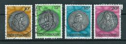 1986 Luxemburg Complete Set Medals Used/gebruikt/oblitere