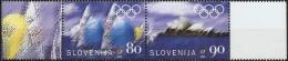 Slovenia 2000, Olympic Games Sydney, Sailing Regatta & Sydey Opera House 2 Values MNH - Ete 2000: Sydney