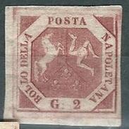 Napoli, Sassone 5E Nuovo, Non Linguellato Certificato Sismondo (sass. 1650 E) - Napoli