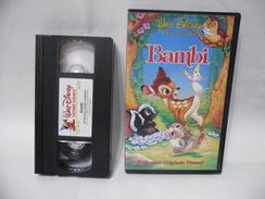 VHS WALT DISNEY I CALSSICI BAMBI. - Cartoni Animati