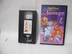 VHS WALT DISNEY I CALSSICI GLI ARISTOGATTI. - Cartoni Animati