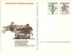 Czechoslovakia 1976 Postal History Museum In Vyssi Brod Opening - Ansichtskarten