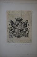 Ex-libris Héraldique Italien, XVIIIème - Piossasco - Ex-libris