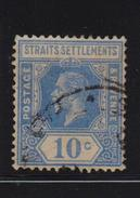 Straits Settlements 1921, Minr 167, Vfu. Cv 4,40 Euro - Straits Settlements
