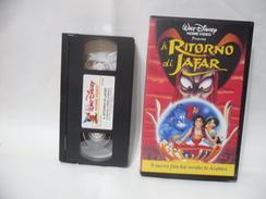 VHS WALT DISNEY I CLASSICI IL RITORNO DI JAFAR. - Cartoni Animati