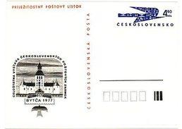 Czechoslovakia 1977 Stamp Exhibition In Bytca - Ansichtskarten