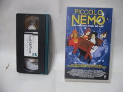 VHS PICCOLO NEMO AVVENTURE NEL MONDO DEI SOGNI. - Cartoni Animati