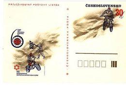 Czechoslovakia 1977 Cross-Country Motorcycle Race - Ansichtskarten