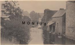 L'AVEN A PONT AVEN  (29 Finistere)  AOUT 1939 - PHOTO ORIGINALE Dim 11x6,5 Cms - Lieux