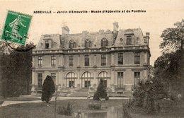 80 Abbeville. Jardin D'Emouvile. Musée D'Abbeville Et Du Ponthieu - Abbeville