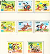 GRENADE 1986 - Ameripex 86 / Disney - Yvert 1319/1326  Neufs ** - Grenada (1974-...)