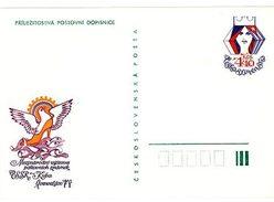 Czechoslovakia 1979 CSSR-Cuba Stamp Exhibition - Ansichtskarten