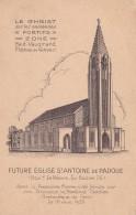 """B6 - 75 - Paris - Future Eglise St-Antoine De Padoue - Le Christ Sur Les Anciennes """"Fortifs"""" - Zone Haut-Vaugirard - Francia"""