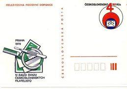 Czechoslovakia 1979 Czechoslovak Philatelic Association Congress - Ansichtskarten